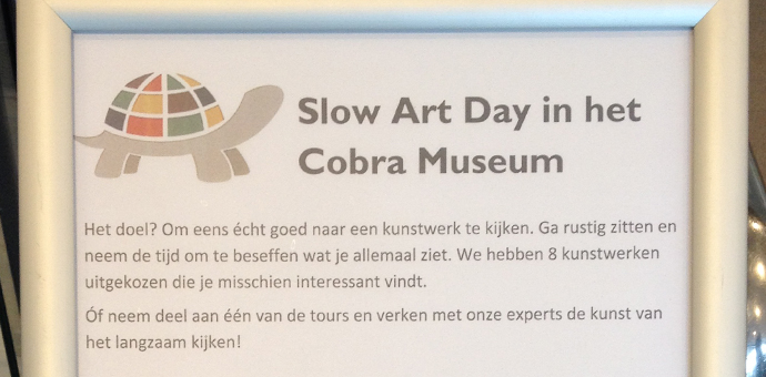 Slow Art Day in Cobra Museum 2