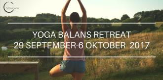 YOGA BALANS RETREAT29 SEPTEMBER-6 OKTOBER 2017