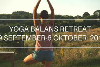 YOGA BALANS RETREAT29 SEPTEMBER-6 OKTOBER 2017